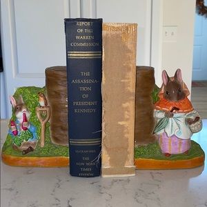 Collectible Beatrix Potter bookends